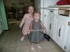 CareBear and LiliBee pose.
